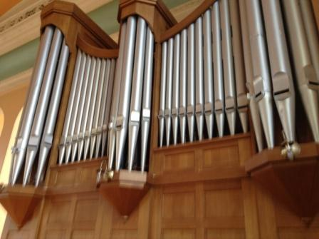 church organ 1a